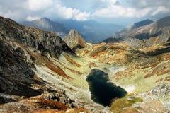Slovak Mountains. Scenic view in the High Tatras mountain range in Slovakia Stock Photo