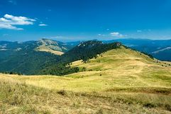 Slovak mountains. View of the Slovak mountains Stock Images