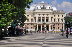 Slovak National Theater, Bratislava. This picture shows the Slovak National Theater in Brastislava, Slovakia stock images