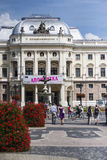 Slovak National Theater Stock Image