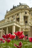 Slovak national theatre Royalty Free Stock Photography
