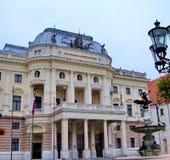 Slovak National Theatre. Bratislava, Slovakia royalty free stock photo