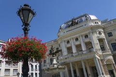 Slovak National Theatre - Bratislava - Slovakia Stock Photo