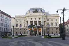 Slovak National Theatre in Bratislava Royalty Free Stock Photos