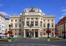 Slovak National Theatre Stock Image