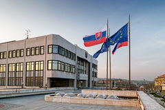 Slovak Parliament Stock Photo