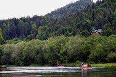 Slovak republic. Impressive view between the Carpathian Mountains Royalty Free Stock Photo