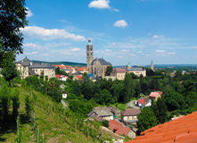 Slovak town Royalty Free Stock Photography