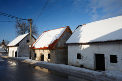 Slovak traditional architecture. Stock Images