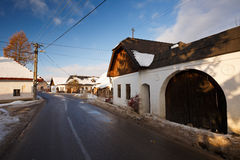 Slovak traditional architecture. Royalty Free Stock Images