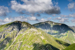 Slovak Western Tatras mountains in summer Royalty Free Stock Images