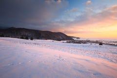 Slovak winter landscape. Royalty Free Stock Photos