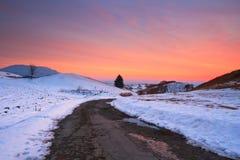 Slovak winter landscape. Royalty Free Stock Photography