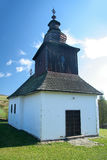 Slovak wooden church Royalty Free Stock Photo