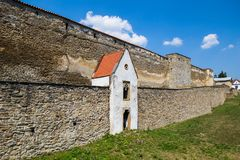 Slovaka, Levoca Paredes de Fortofocation Fotos de archivo libres de regalías