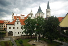 Slovakia. An ancient city in Slovakia royalty free stock images