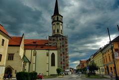 Slovakia. An ancient city in Slovakia royalty free stock photo