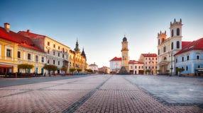 Slovakia, Banska Bystrica main SNP square royalty free stock images