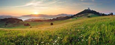Slovakia - Banska Stiavnica, Calvary Stock Images