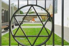Slovakia, Bardejov, Holocaust Memorial stock image