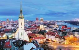 Free Slovakia - Bratislava At Night Royalty Free Stock Photo - 49365205