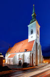 Slovakia - Bratislava cathedral Royalty Free Stock Images