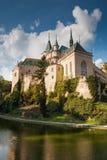 Slovakia castle Bojnice Stock Photo