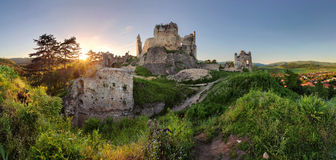 Slovakia castle - Divin stock photography