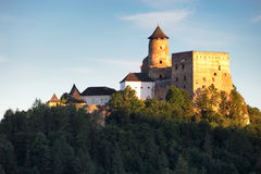 Slovakia castle, Stara Lubovna royalty free stock photography