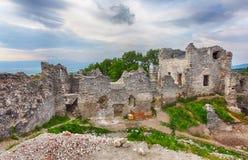 Slovakia castle Tematin Royalty Free Stock Photos
