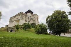 Slovakia castle, Trencin royalty free stock photo