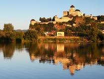 Slovakia Castle - Trencin Royalty Free Stock Photos