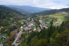 slovakia Château d'Orava Photographie stock