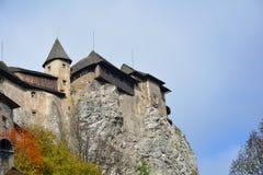 slovakia Château d'Orava Photo libre de droits