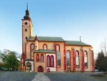 Slovakia - Church of Assumption of Virgin Mary in Banska Bystrica. royalty free stock photo