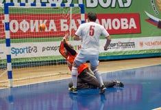 Slovakia embassy team vs CFIKS team Stock Photography