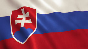 Slovakia Flag Stock Photos
