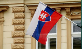 Slovakia flag Royalty Free Stock Photos