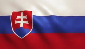 Slovakia Flag Royalty Free Stock Image
