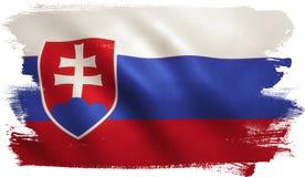 Slovakia Flag Royalty Free Stock Photos