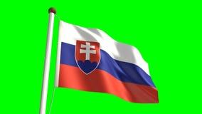Slovakia flag Royalty Free Stock Photography