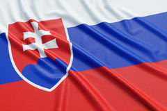 Slovakia flag Royalty Free Stock Photography