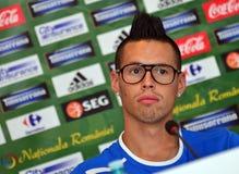 SLOVAKIA FOOTBALL PRESS CONFERENCE Stock Photography