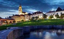 Slovakia - historic medieval mining town of Kremnica royalty free stock photos