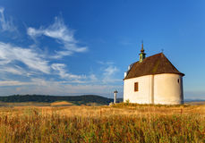 Slovakia - Holy cross baroque chapel Stock Images