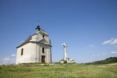 Slovakia - Holy cross baroque chapel from Spis Royalty Free Stock Image