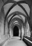 Slovakia - Hronsky Benadik - gothic corridor Royalty Free Stock Photography