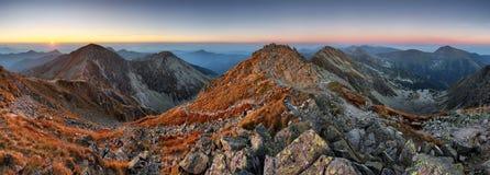 Slovakia mountain at fall Stock Image