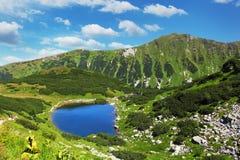 Slovakia mountain lake - Rohacske plesa. West Tatras stock photography