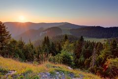 Slovakia mountain landscape at summer Royalty Free Stock Images